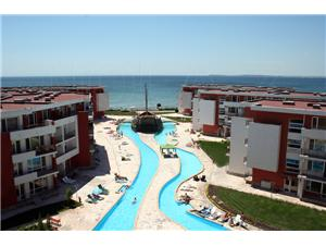 2 bedroomed penthouse apartment with uninterrupted sea view in Elenite, Bulgaria